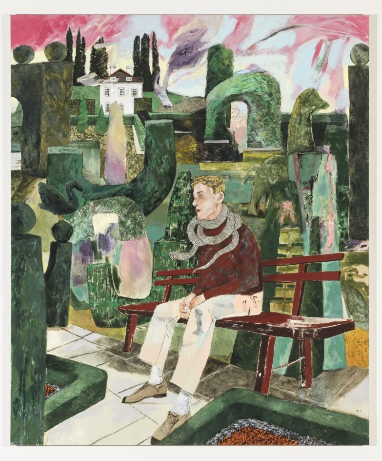 HERNAN BAS, The gardener's scarf, 2018