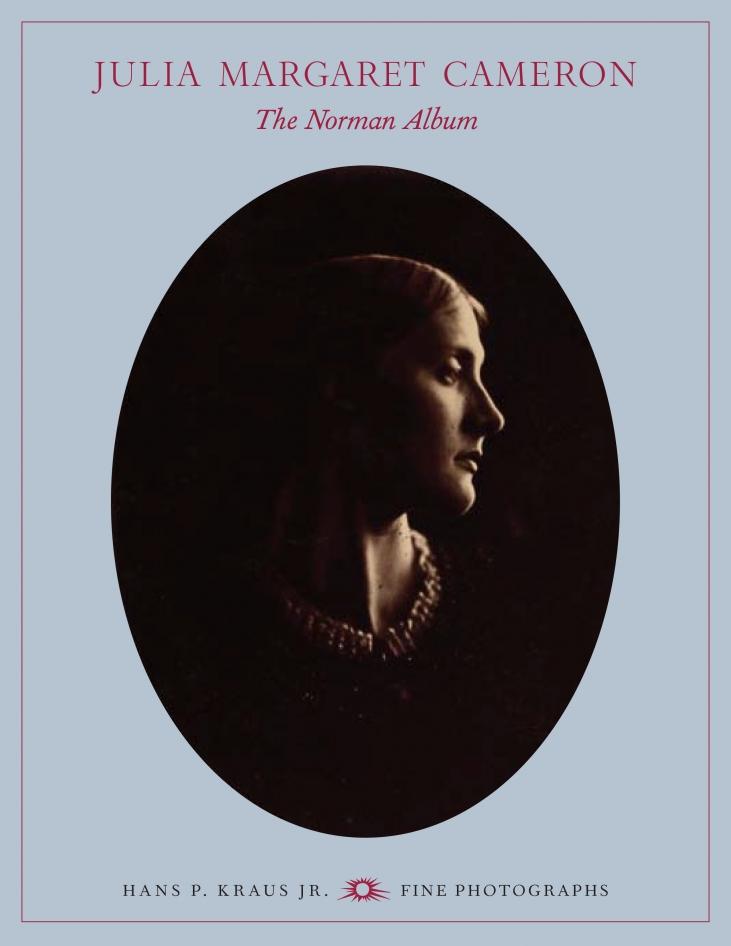 Julia Margaret Cameron The Norman Album Cover
