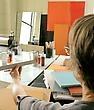 Video of Peri Schwartz in her studio.