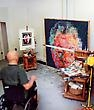Artist Crafts Teeny Tiny Models Of Famous Artists' Studios