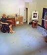 Artist Joe Fig Makes Miniature Sculptures of Famous Artists Working in Their Studios