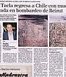 Jorge Tacla Regresa a Chile con Muestra Inspirada en Bombardeo de Beirut