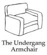 Robert McNally – The Undergang Armchair