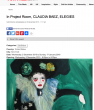 ARTWORK Press: In Project Room CLAUDIA BAEZ ELEGIES