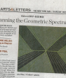 THE NEW YORK SUN, Spanning the Geometric Spectrum by Jennifer Riley, May 15, 2008