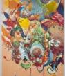 Mi Ju Reimagines Korean Folk Art in her Wild, Whimsical Paintings