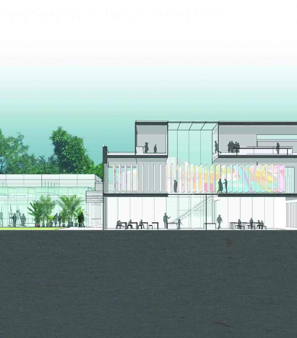 Woodmere Art Museum Proposed Master Plan