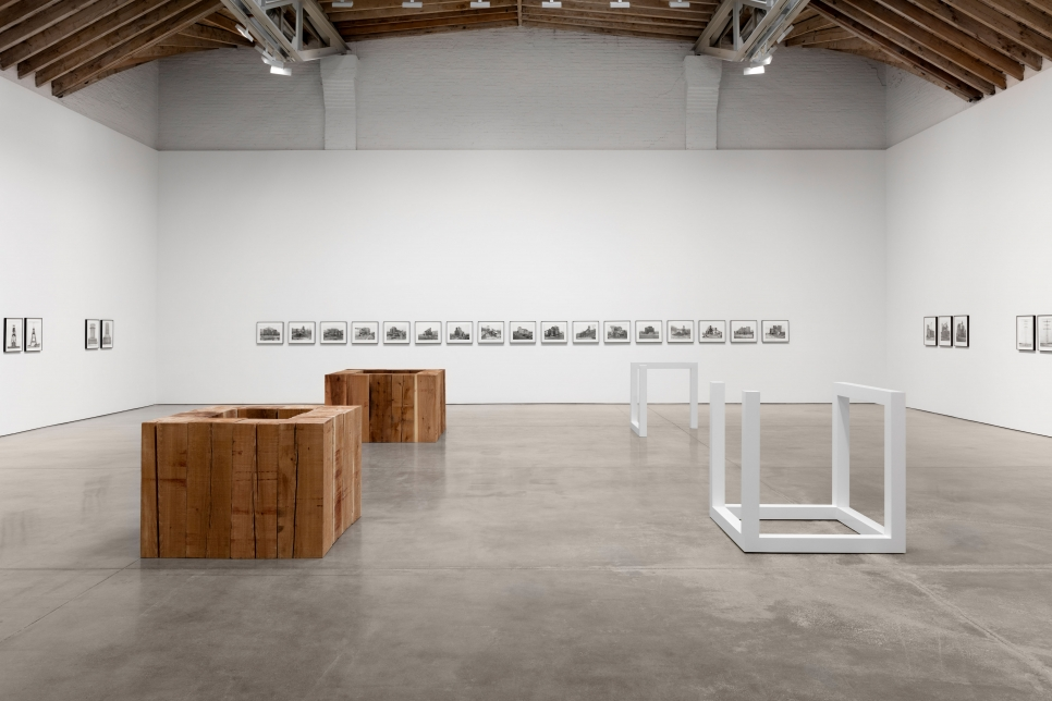 Bernd and Hilla Becher: In Dialogue with Carl Andre and Sol LeWitt