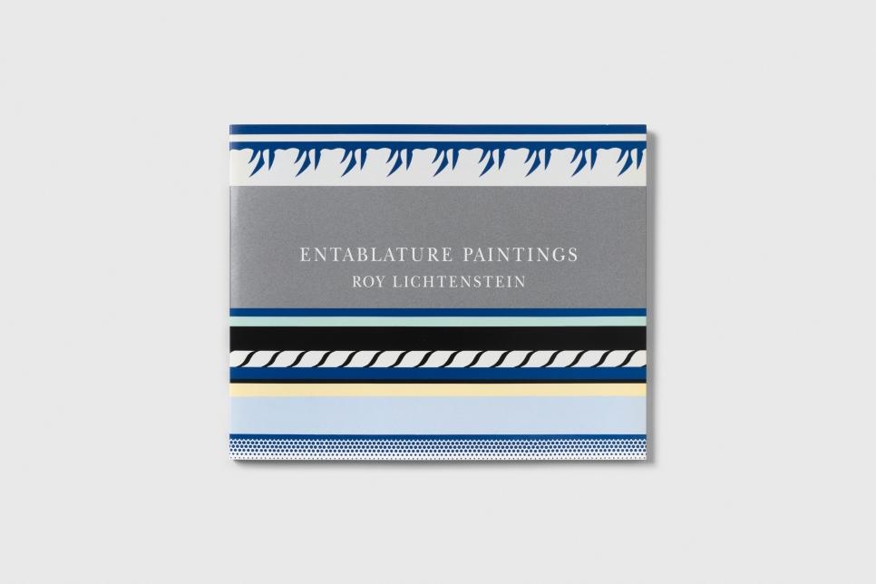 Roy Lichtenstein Entablature Paintings Cover