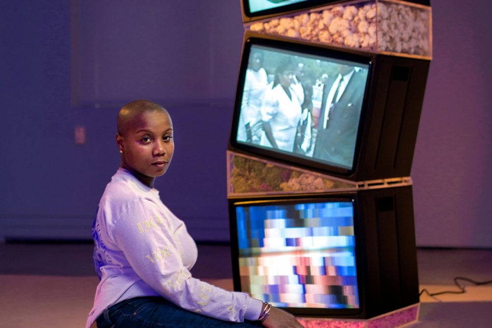 """Ja'Tovia Gary in the 2021 Texas Biennial, """"A New Landscape, A Possible Horizon"""""""
