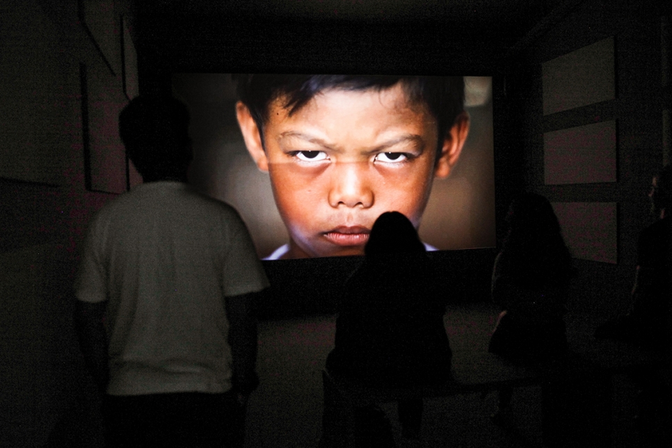 """Paul Pfeiffer in the """"11th Seoul Mediacity Biennale: One Escape at a Time"""""""