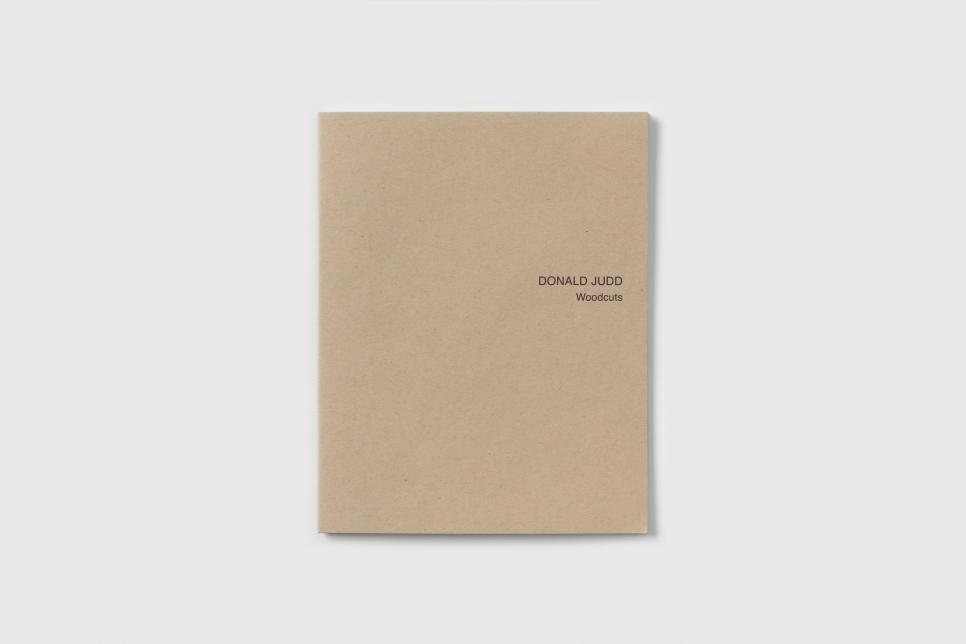 Donald Judd: Woodcuts