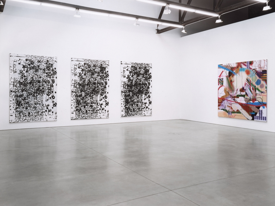 George Condo, Albert Oehlen, Gerhard Richter, Rachel Whiteread, Christopher Wool