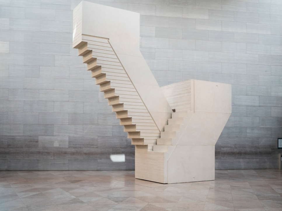 Whiteread stair sculpture
