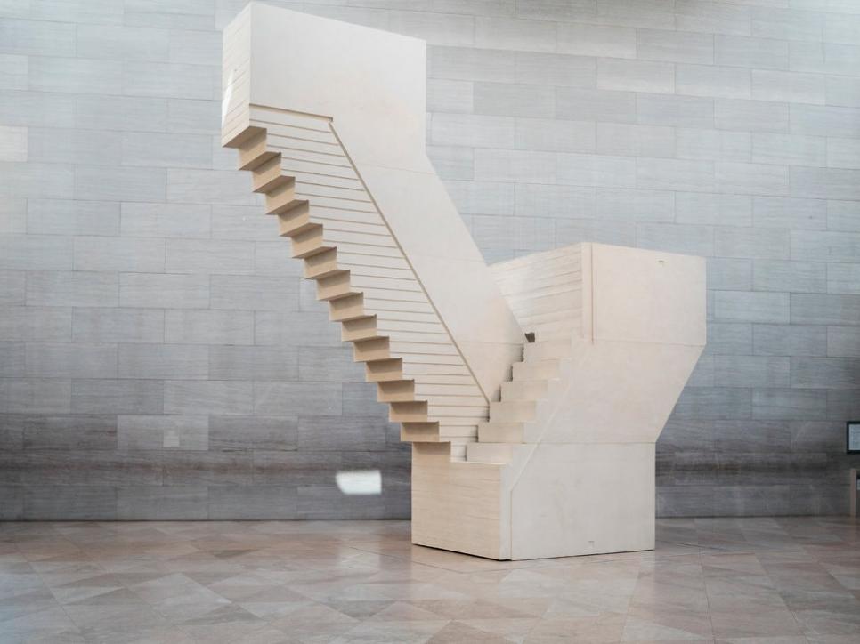 Whiteread stair sculpture