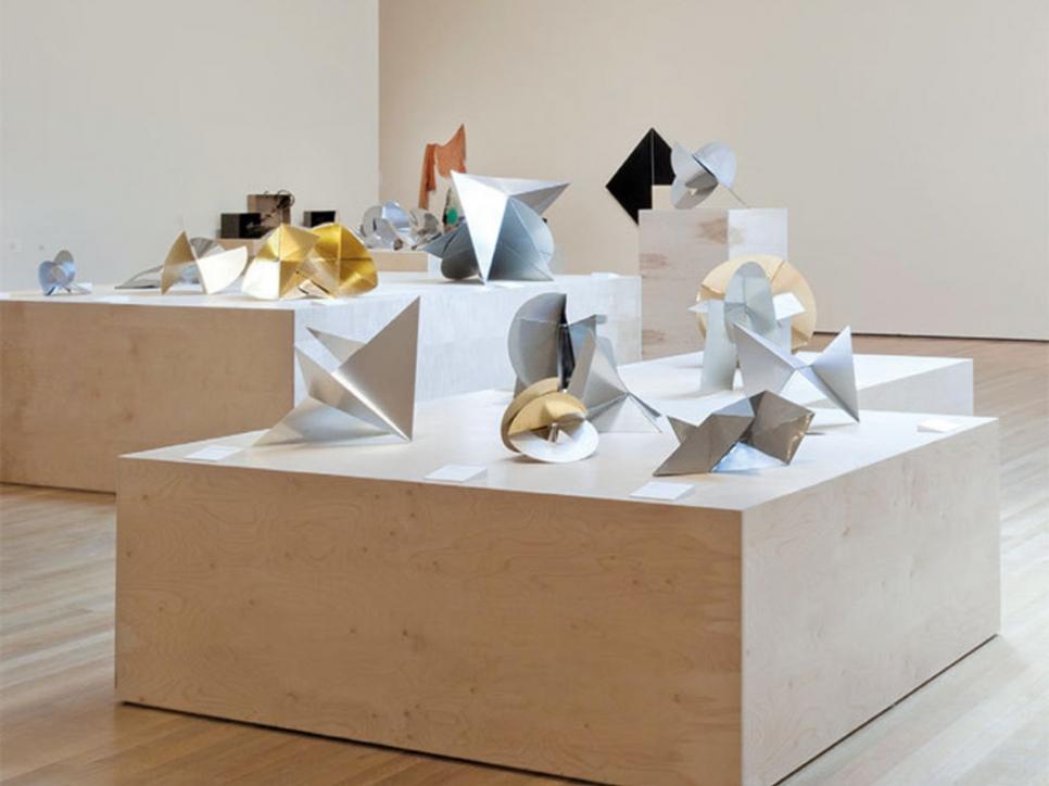 Clark sculpture installation