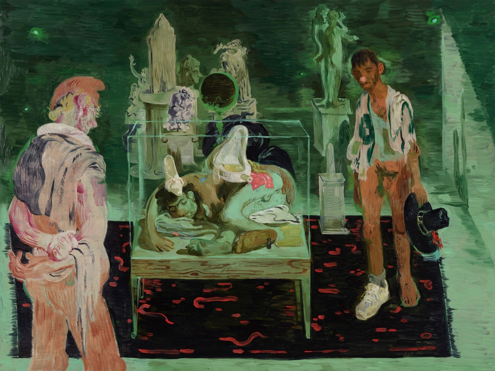 """Salman Toor in """"Living Histories: Queer Views and Old Masters"""""""
