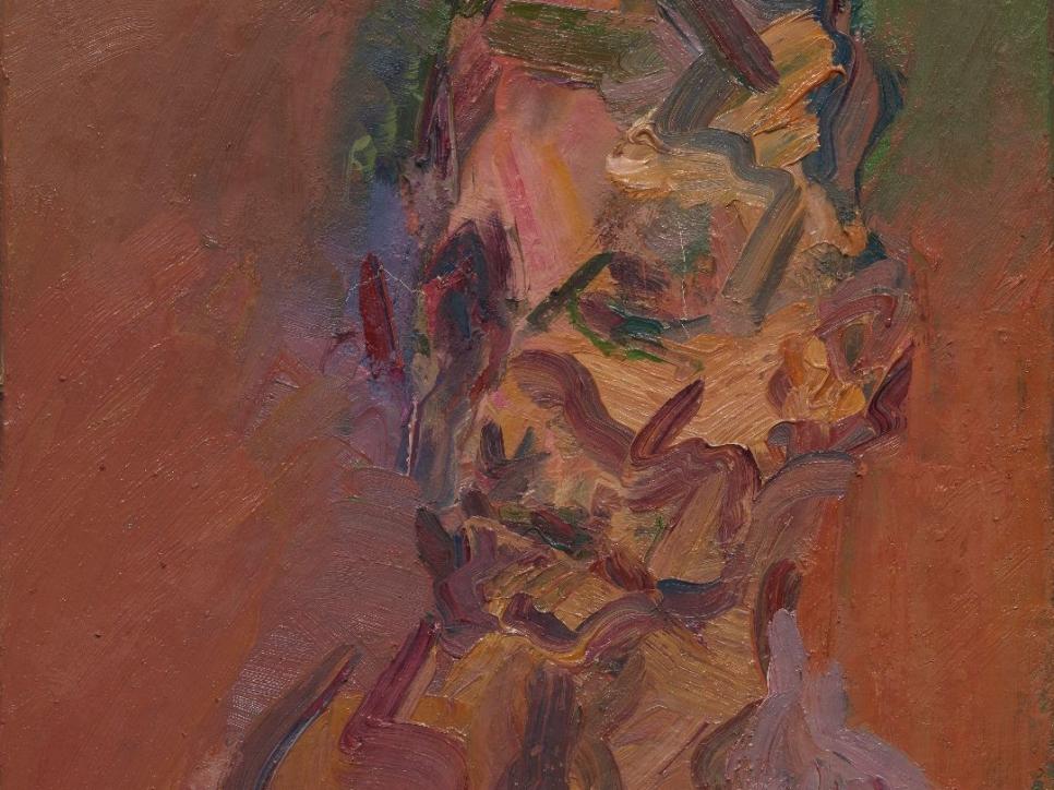 Auerbach portrait painting