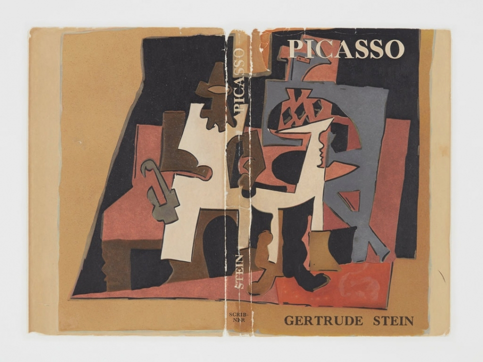 Book jacket for Picasso by Gertrude Stein