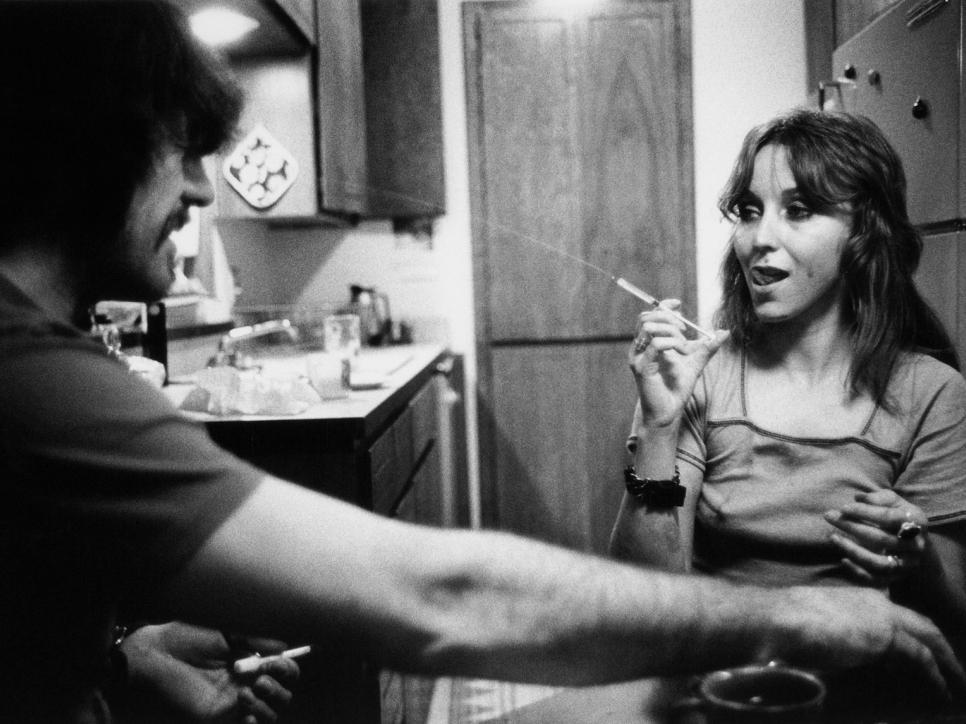 Larry Clark Tulsa photo, needle