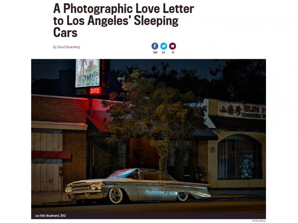 Gerd Ludwig: A Photographic Love Letter to Los Angeles' Sleeping Cars - Slate.com