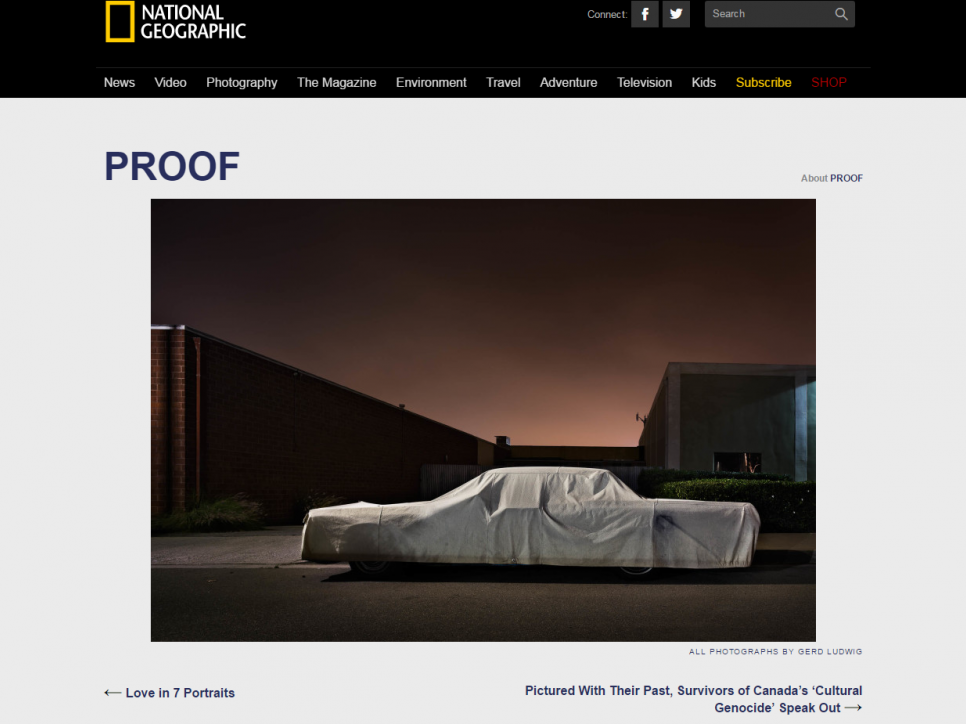 Gerd Ludwig: The Secret Lives of Sleeping Cars - National Geographic
