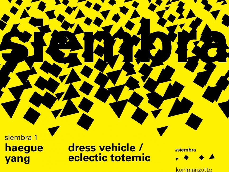haegue yang – dress vehicle/eclectic totemic