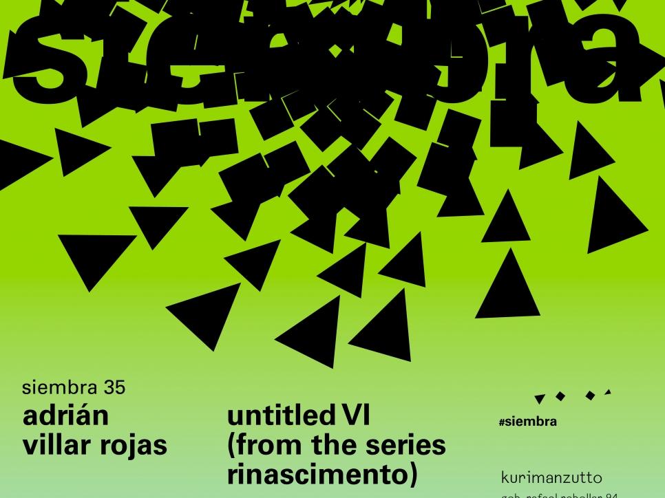 adrián villar rojas - untitled VI (from the series rinascimento)