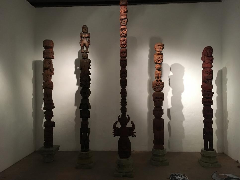 Dr. Lakra participa en Museo de la CIudad en Querétaro con su exposición yurugu en diálogo con rené bustamante