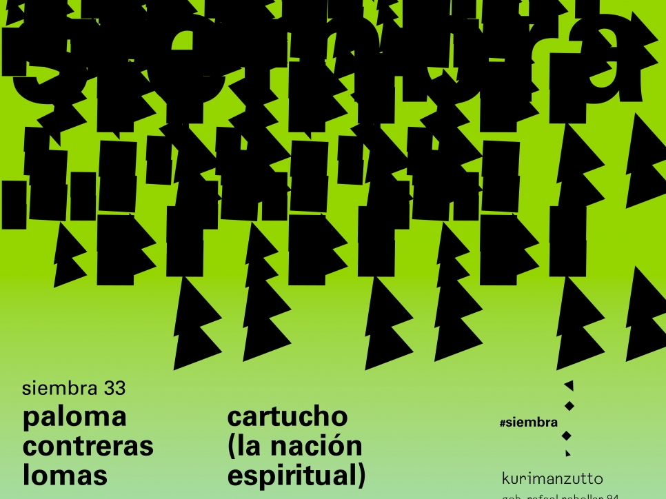paloma contreras lomas - cartucho (la nación espiritual)