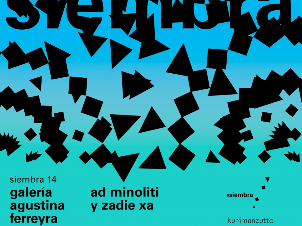 Galería agustina ferreyra - ad minoliti & zadie xa