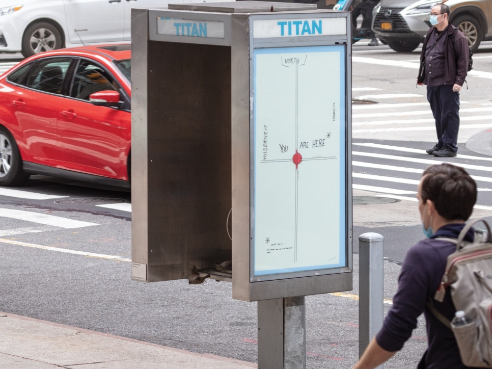 """press: Pay Phones Turned Into Public Art, in """"Titan"""""""