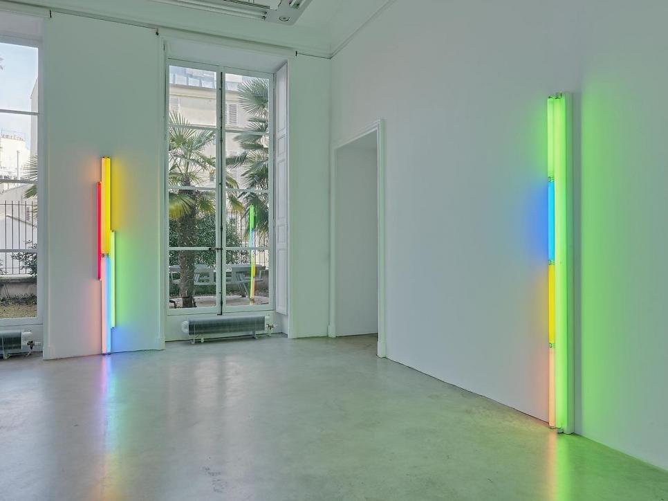 """Dan Flavin """"An installation"""""""