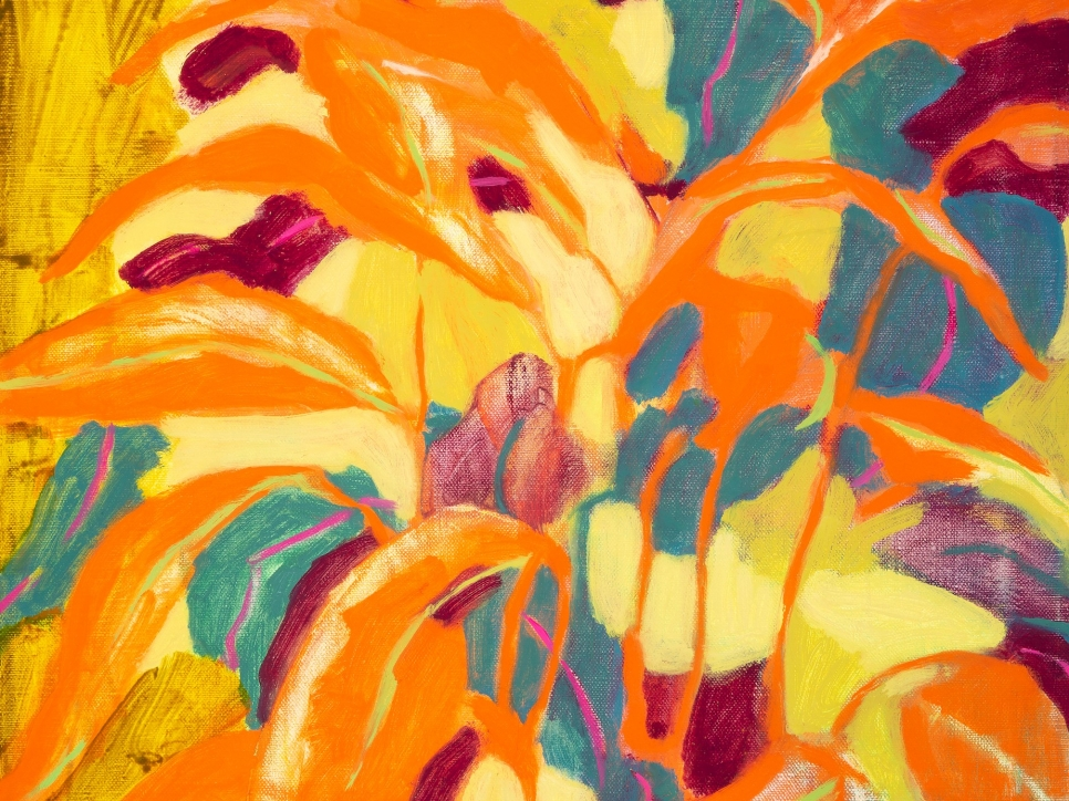 Rebecca Callaghan, Summer Crown, 14 x 11