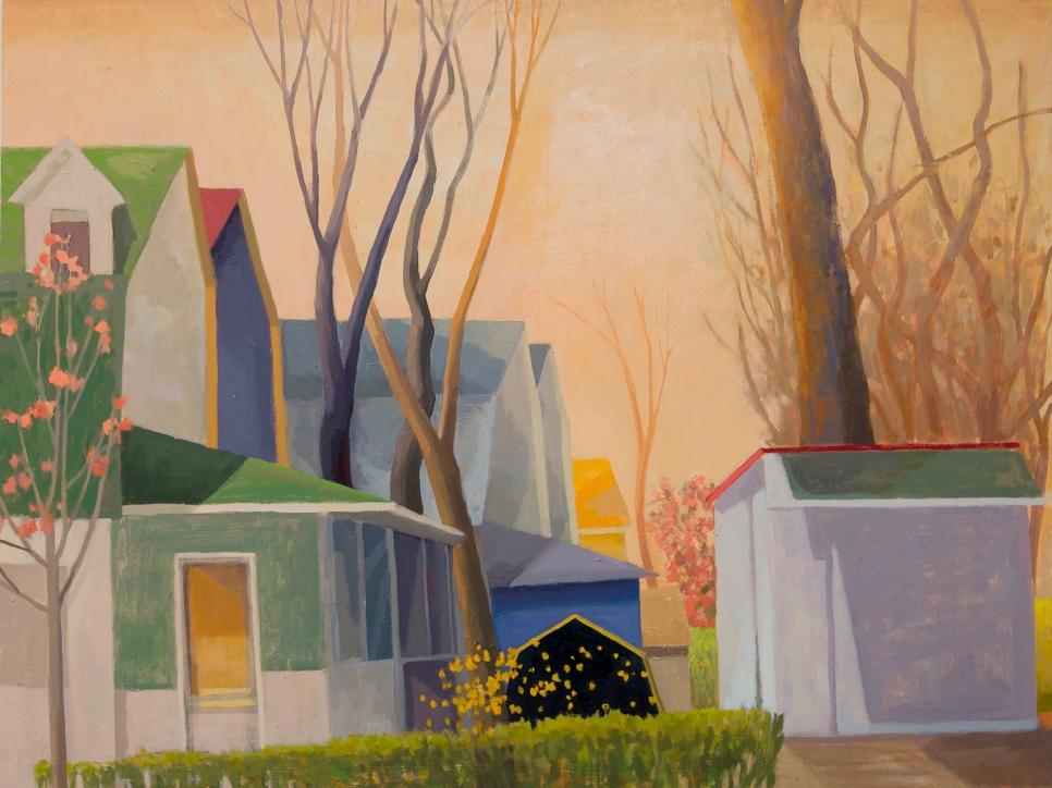 Corner Confetti, Celia Reisman, Oil On Canvas