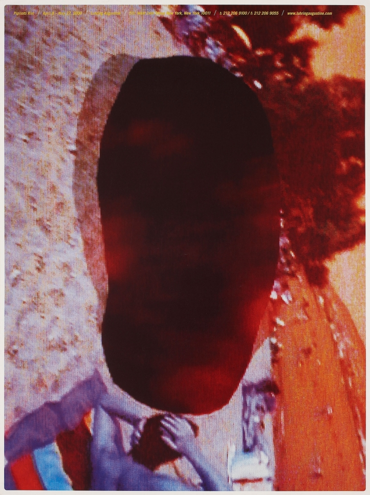 Pipilotti Rist, exhibition poster, April 8 – May 27, 2000