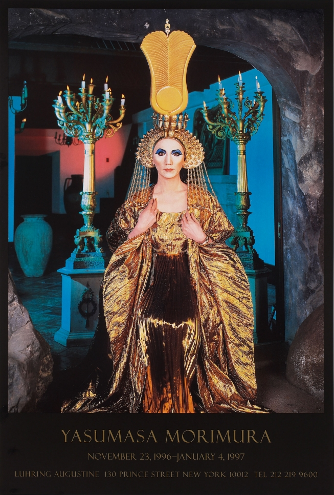 Yasumasa Morimura, exhibition poster, November 23, 1996 – January 4, 1997