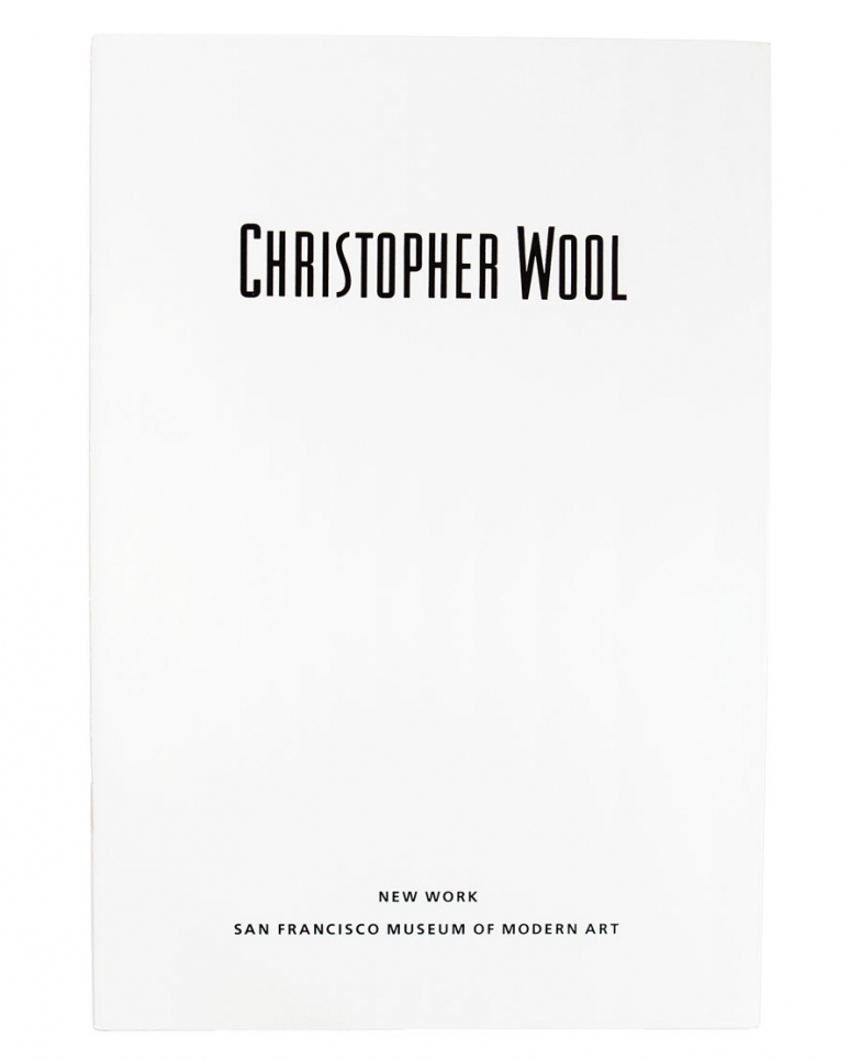 Christopher Wool: New Work
