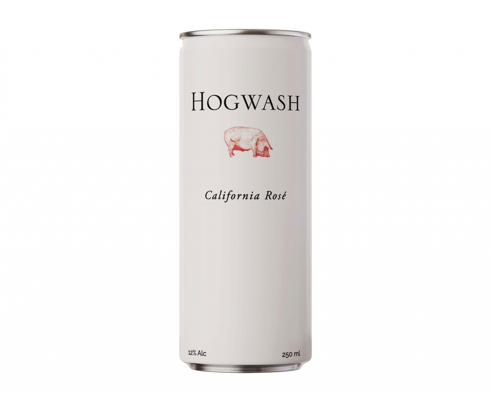 Hogwash Dry Rosé Can 250ml