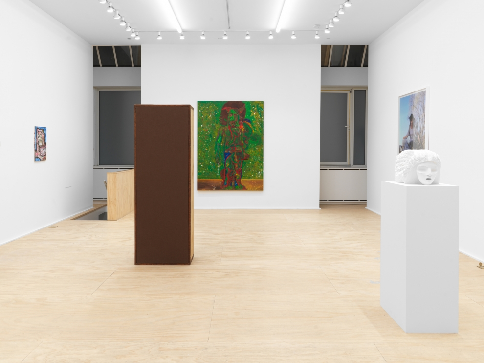 Installation view of group painting, sculpture, photography, and drawing exhibition