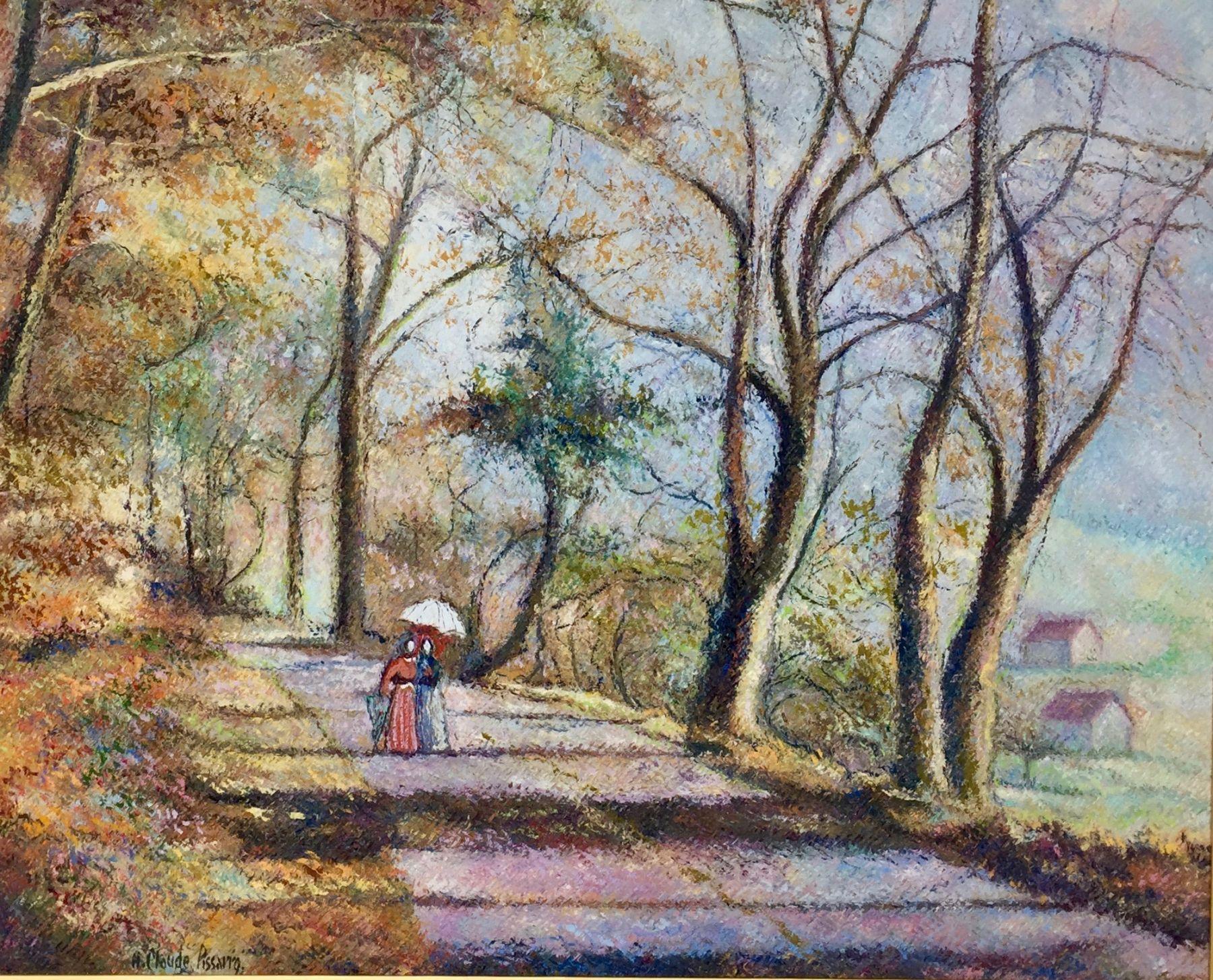 H. C. Pissarro, Promenade au Bois