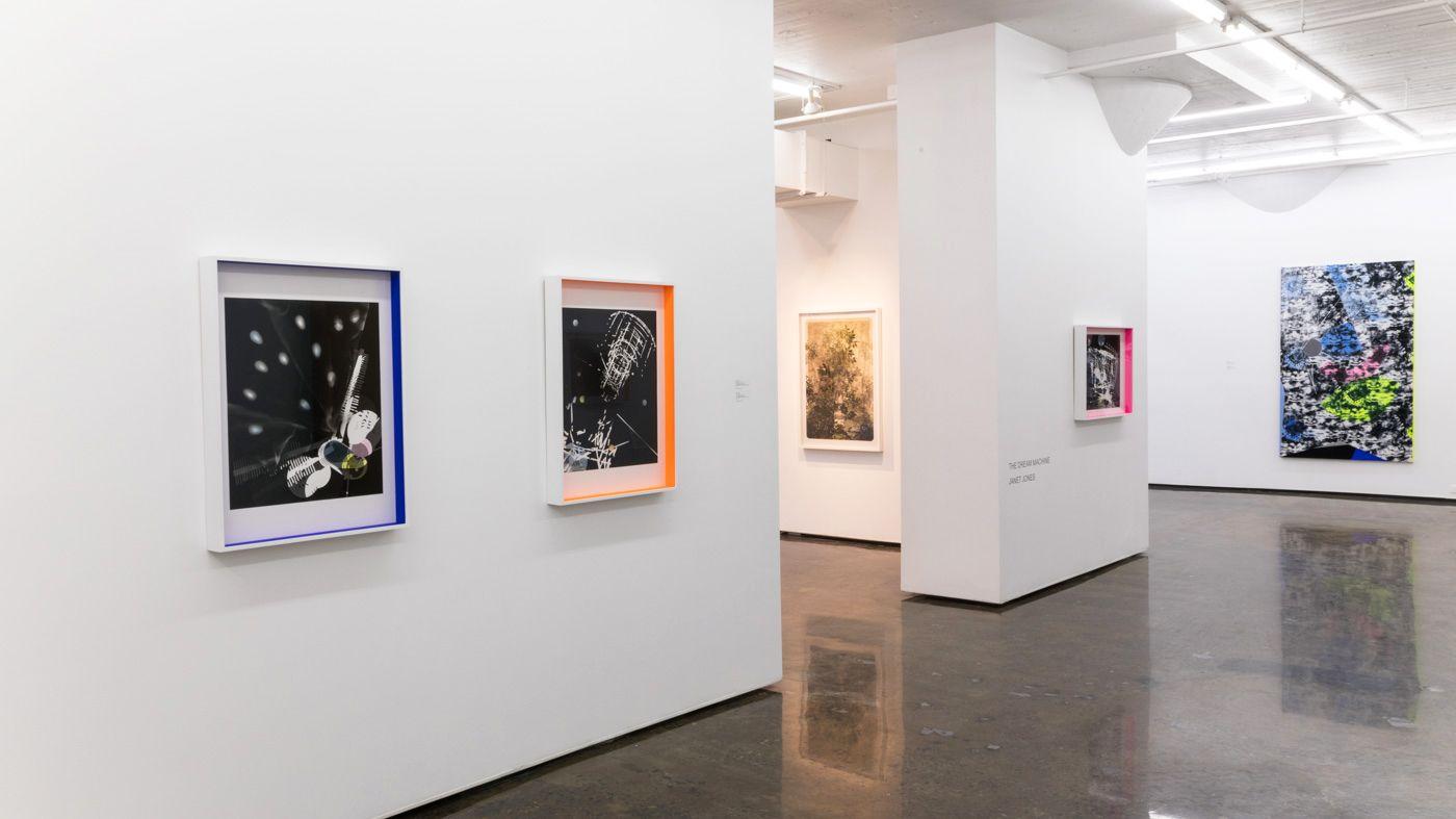 JANET JONES | THE DREAM MACHINE | INSTALLATION VIEW | PATRICK MIKHAIL GALLERY | MONTRÉAL