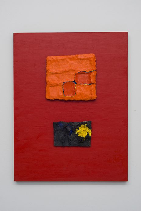 PAUL BUREAU   STUDY (4)   OIL ON PAPER MOUNTED ON WOOD   18,5 X 24INCHES   2014