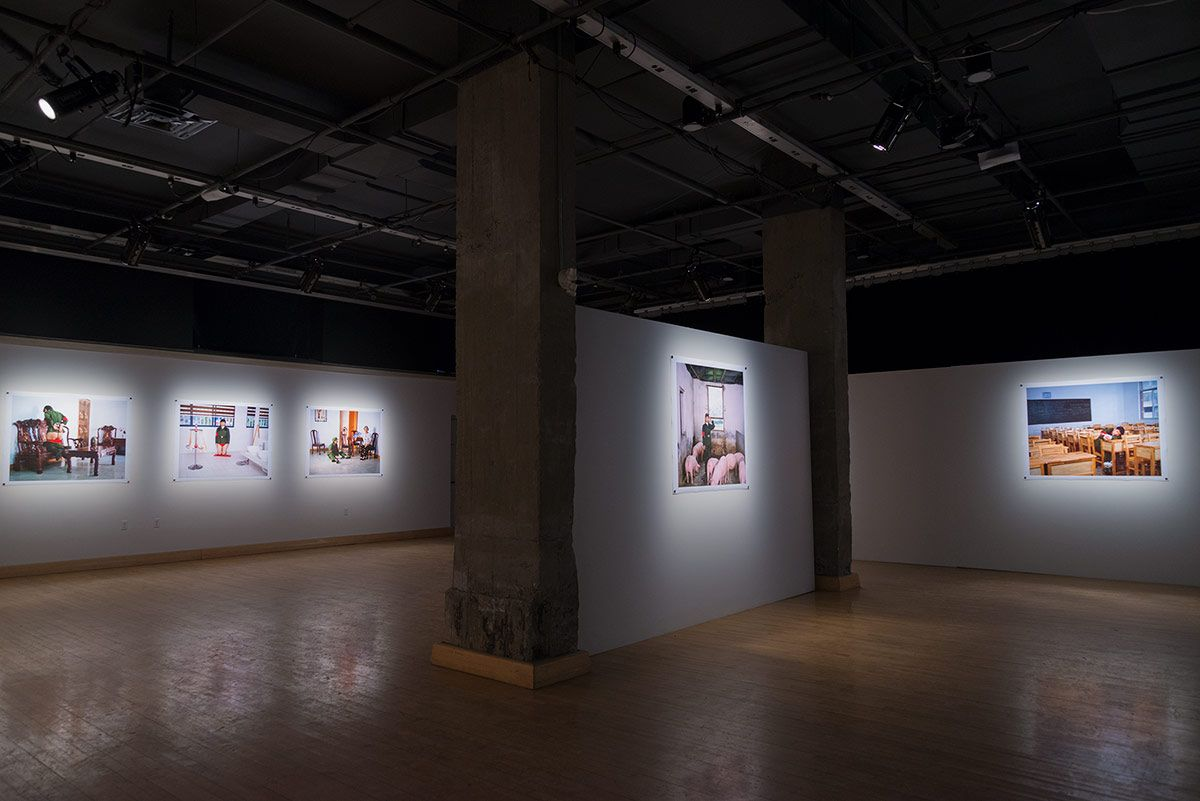 CHUN HUA CATHERINE DONG | TO REBEL IS JUSTIFIED | EXHIBITION VIEW | MAI | MONTREAL | 2015