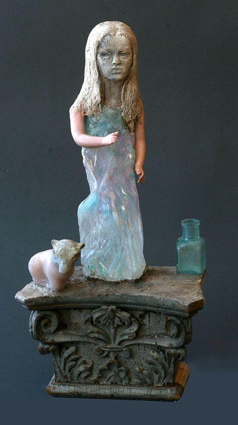 Christina Bothwell, Bo mixed media sculpture