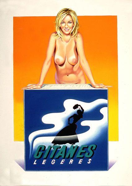 Mel Ramos Gitanes print