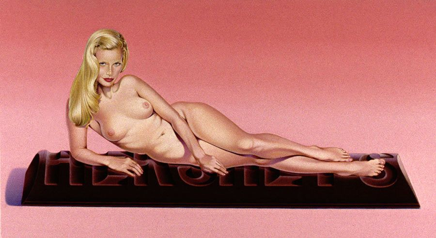 Mel Ramos' Sweet Odalisque print