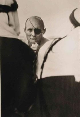 Moshe Dayan, Kalandya Refugee Camp, West Bank, 1967
