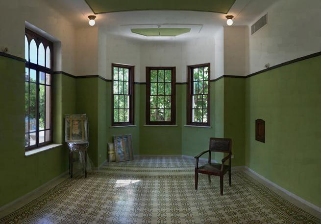 Bialik Renovated (Green Room), 2007