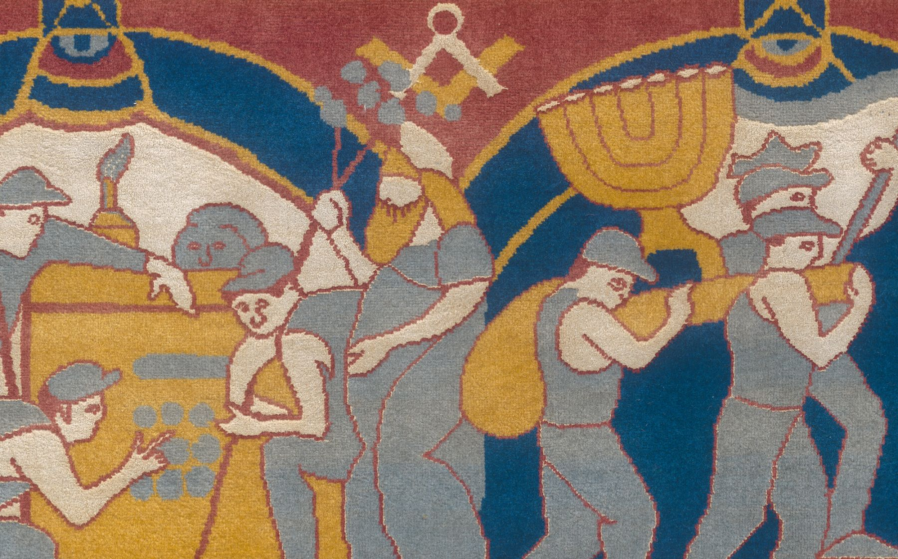IDO MICHAELI, Bank Hapoalim Carpet (detail), 2015